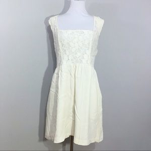 Urban Outfitters Kimchi Blue Lace Ivory Dress 10